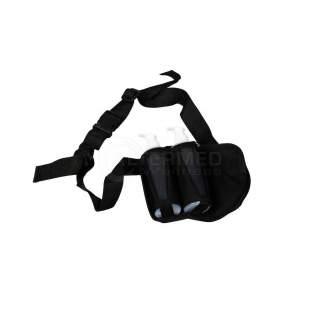 Bæltetaske med 2 pumpeflasker