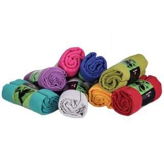 Yoga håndklæde GRIP² Yoga håndklæde med skridsikre prikker