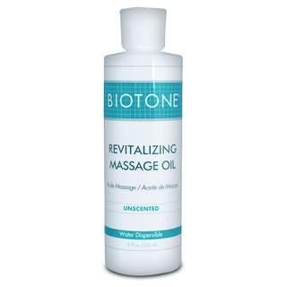 Revitalizing Unscented Massage Oli 236 ml