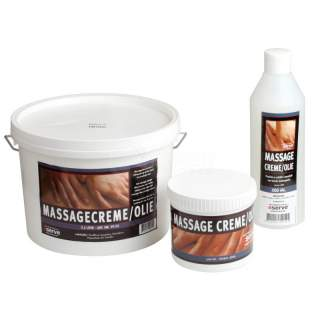Massageolie/creme 500 ml