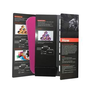 Kinesiologi tape Tmax Guardian Strips - Pink