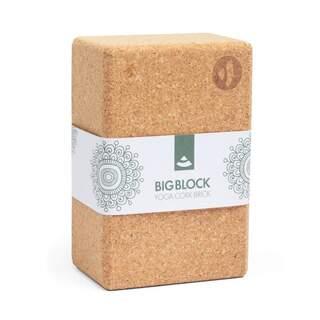 Yogablok kork BIG BLOCK XXL 227 x 150 x 100 mm