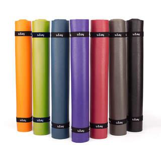 Yogamåtte KAILASH Premium 60: 3 mm, en let klæbrig måtten, Öko-Tex