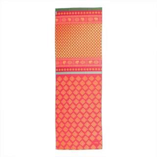 Yoga håndklæde GRIP² - Safari Sari 183 x 61 cm med skridsikre prikker