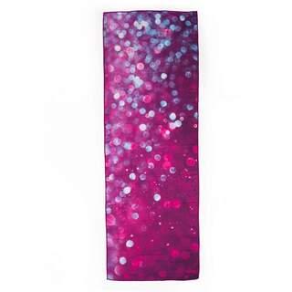 Yoga håndklæde GRIP² - Dråber af fred Yogahåndklæde med skridsikre prikker