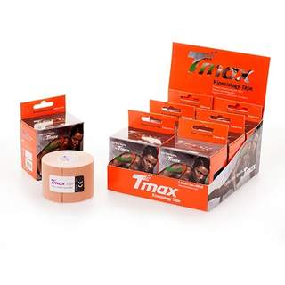 Tmax Kinesiologi Tape PRECUT - Beige 20 stk. 5x25cmTmax Tape PRECUT - Beige 20 stk. 5x25cm