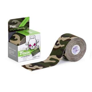 Tmax Kinesiologi Tape SPORT LIMITED EDITION Green Camo
