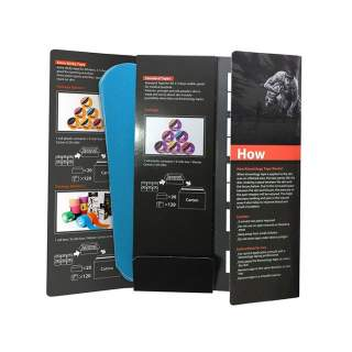 Kinesiologi tape Tmax Guardian Strips - Blå